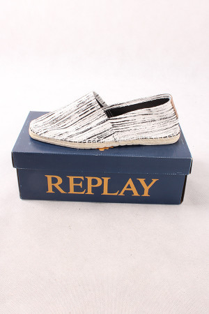 REPLAY RE160020T LOWER 0041 OFF WHT